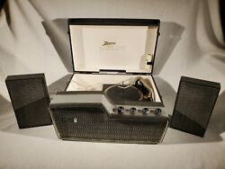 Vtg Zenith Kps-80c Stereophonic High-fidelty 1960and039s 78/33/45/16 Record Player
