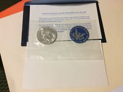 1974-s Eisenhower Blue Pack Sealed Cello Brilliant Uncirculated Us Mint Dollar