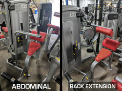 Cybex Vr3 Ab And Back Combo - Gym Exercise Machines Abdominal + Back Extension