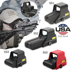 Tactical Red Green Dot Holographic Sight Airsoft Hunting Scope Sight 551 552 553
