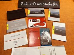 💥💥 2016 Ferrari 488 Gtb Owners Manual Set +unused Service Section Oem New 💥