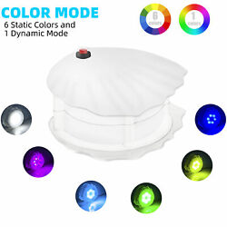 Ip68 Underwater Led Pool Light 10w Above Ground Auto-on At Night Color Changing