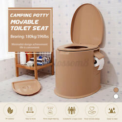 Toilet Seat Portable Travel Camping Hiking Indoor Outdoor Home Potty Commode