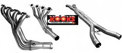 09-13 C6 Ls3 6.2 Kooks 2and039and039 X 3 Long Tube Stainless Headers With 3 Offroad Xpipe
