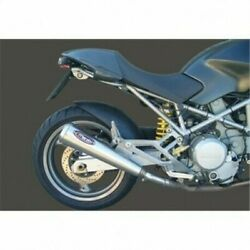 Terminals Exhaust Silencers Approved Marving Ducati Monster 900 1993-1996