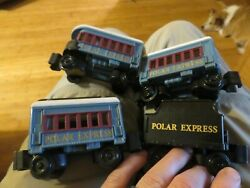 4 Lionel The Polar Express Little Lines Train Replacement Cars