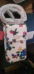 Kate Spade STACI SAILING FLORAL North South Crossbody NEW WITH TAGS $69.99