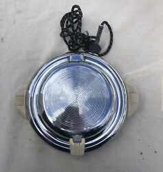 Vintage Ge General Electric Round Waffle Iron Hot Plate Antique Made In Usa Vtg