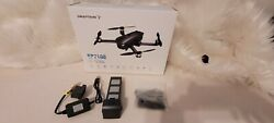 Newsnaptain Sp7100 4k Gps Drone W/ Uhd Camera For Adults Foldable Quadcopter
