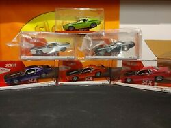 Scx Cudaand039s Ultimate Slot Cars Collection Very Limited Edition 6 Cars All New