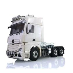 Lesu 1/14 6x6 Metal Chassis For Tractor Diy Model Rc Benz 3363 Arocsandactros Cab