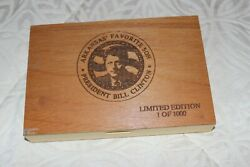 Case Mccoy Knife Co Trapper Bill Clinton Limited Edition 181 Of 1000