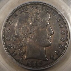 1895-o Barber Half Dollar 50c Pcgs Certified Vf35 Richly Toned Solid Xf In My Op