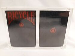 Federal 52 Black Reserve Note Red Branded Unbranded Playing Cards Set Numbered