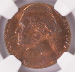Ngc 5c 1979 Jefferson Nickel On 1978 Lincoln Cent Double-denomination Ms64 Rb