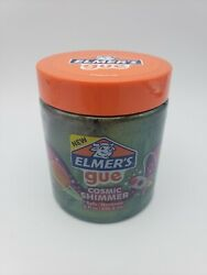 Elmerand039s Gue Pre Made Slime Cosmic Shimmer Glitter Slime Gold To Green Galaxy