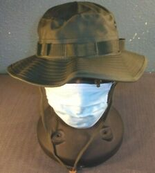 Nwt Rothco Ultra Force Military Og-107 Olive Drab Green Boonie Hat Cap Large