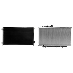A/c Condenser And Radiator Kit For 2005-2007 Honda Accord