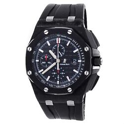 Audemars Piguet Royal Oak Offshore Carbon Auto Black Watch 26400au.oo.a002ca.01