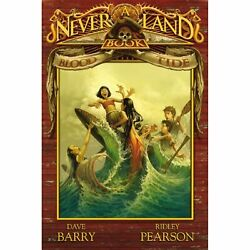 Blood Tide Never Land Book 3 Pearson Ridley Barry Dave And Call Greg