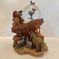 Un-used🎶disney The Lion King Snow Globe🎶perfect Conditionnever Displayed