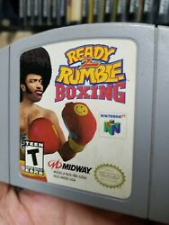 Ready 2 To Rumble Boxing Nintendo 64 Authentic N64 Game Shown Tested
