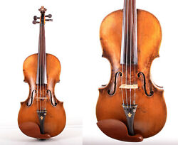 Authentic Old/ Vintage/ Antique 4/4 Master German Violin Andcasetop Qualityvideo