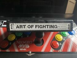 Art Of Fighting Snk Mvs Neo Geo Arcade Cartridge Tested Working Original