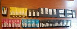 Lot Of Hp Ink Jet Printer Cartridges - Used Cartridges For Refill 75 Cartridges