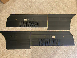 1969 Dodge Charger Door Panels - Set Of 4 New Reproductions - Ships Immediately