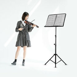 Portable Metal Music Stand Detachable Musical Instruments For Piano Violin Z9u3