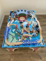 Thomas And Friends The Tank Engine Table, Track, And Trains Set Lot Very Rare