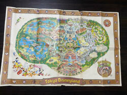 Disneyland Map Early Large Format Poster