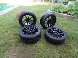 Mmd Axiom Mustang Wheels And Mickey Thompson Tires-used