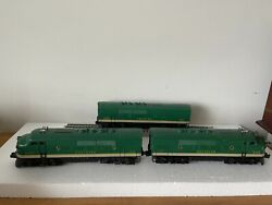 Lionel Vintage 2356 Southern F3 Aba Diesels O Scale