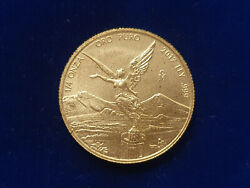 🔥2017 Mexico 1/4 Oz Gold Libertad Coin Uncirculated W/copper Spots Mintage 500