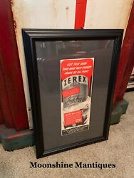 1941 Zerex Dupont Anti-freeze Professionally Framed Print Ad - Gas And Oil Sign