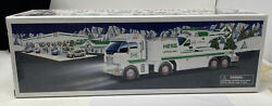 2006 Hess Toy Truck And Helicopter Holiday Set In Original Box - Mint Condition