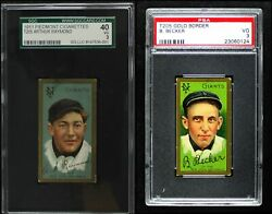 1911 T205 New York Giants Almost Complete Team Set 2.5 - Gd+