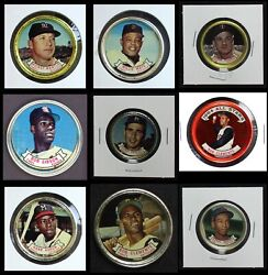 Topps Coins 1964 Topps Baseball Coins Complete Set 5 - Ex