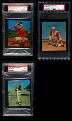 1965 Kahnand039s Baseball Partial Complete Set 5.5 - Ex+