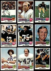 1975 Topps Football Complete Set 6 - Ex/mt