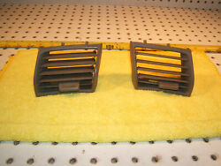 Mercedes R129 Sl Front Dash Right And Left Us Stein Vent Front Pieces Oem 2 Covers