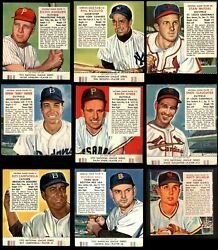 Red Man Tobacco 1953 Red Man Partial Complete Set 3 - Vg