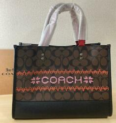 Coach Dempsey Carryall Tote Bag C1527