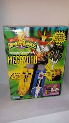 1994 Vtg 14 Mighty Morphin Power Rangers Remote Controlled Megazord Read Descr