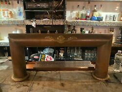 Custom Crafted All-copper draft Beer Tower - 8 Faucets - Glycol Ready