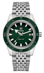 Rado Captain Cook Automatic 42mm Green Dial Stainless Steel Mens Watch R32505313