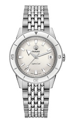Rado Captain Cook Automatic 37mm Silver Dial Unisex Watch R32500013