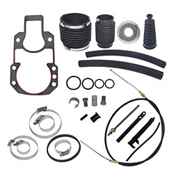 Labwork Transom Seal Bellow Repair Kit With Lower Shift Cable Replacement For